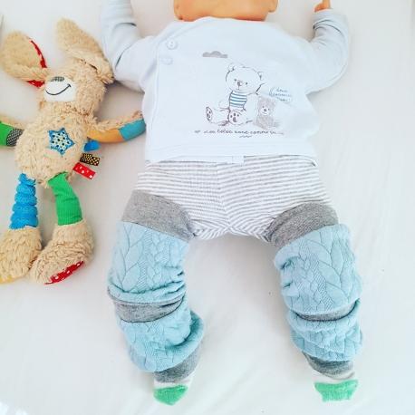 Jambières Plumes spéciales bébé potelé