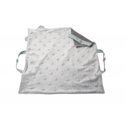 Couverture de portage grise