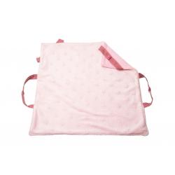 Couverture de portage rose lanières roses clairs
