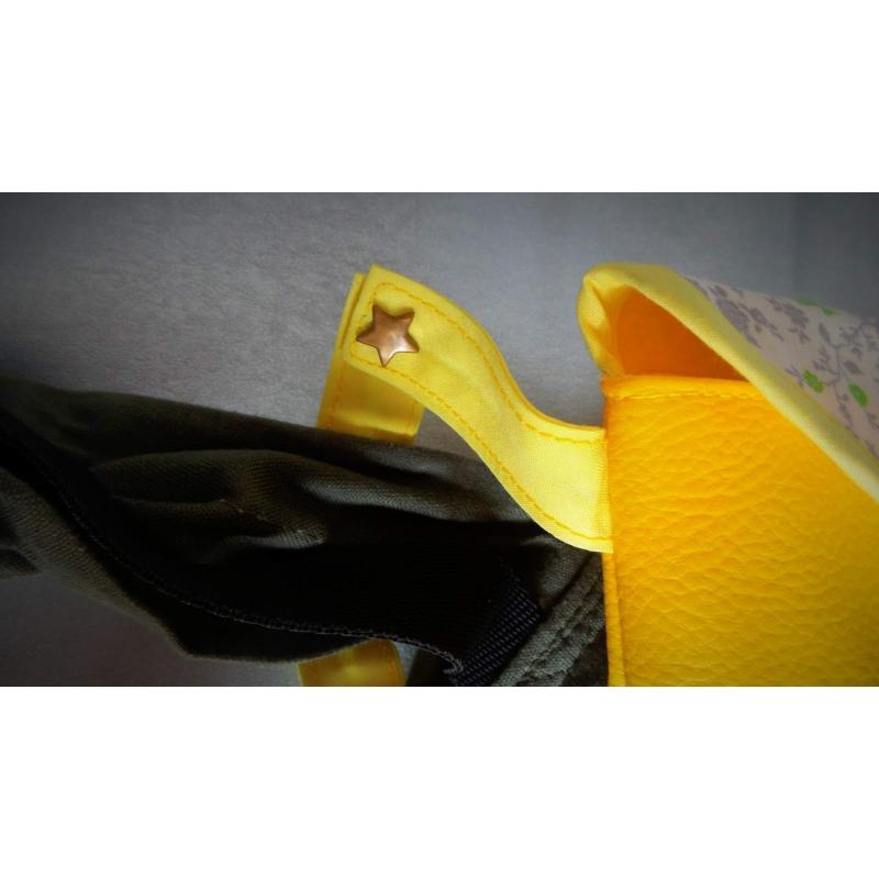 accessoire pour porte b b superbe sac liberty jaune pour porte b b. Black Bedroom Furniture Sets. Home Design Ideas