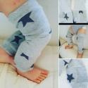 Jambières étoiles grises pailletées