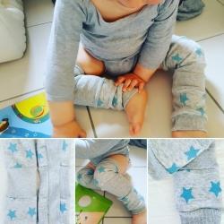 Jambières étoiles bleues