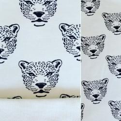 Jegging évolutif de portage _ Noir et blanc motif Léopards