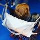 """Accessoires pour porte-bébé: Sac pour porte-bébé Fuchsia """"Envie de liberty"""""""