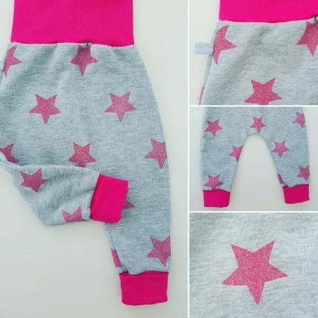 "Sarouel bébé_ Mes jolies étoiles brillantes"""