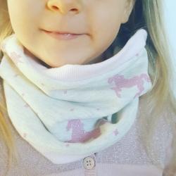 """Snood bébé & enfant """"ma jolie licorne"""""""