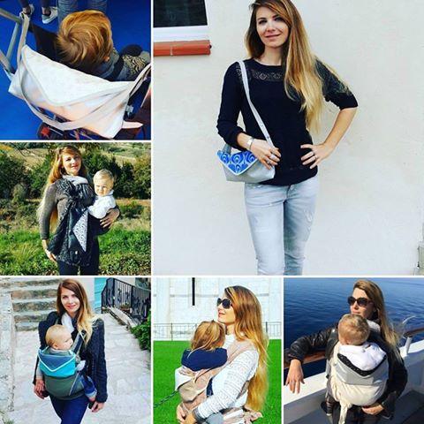 sac pour porte bébé et poussette